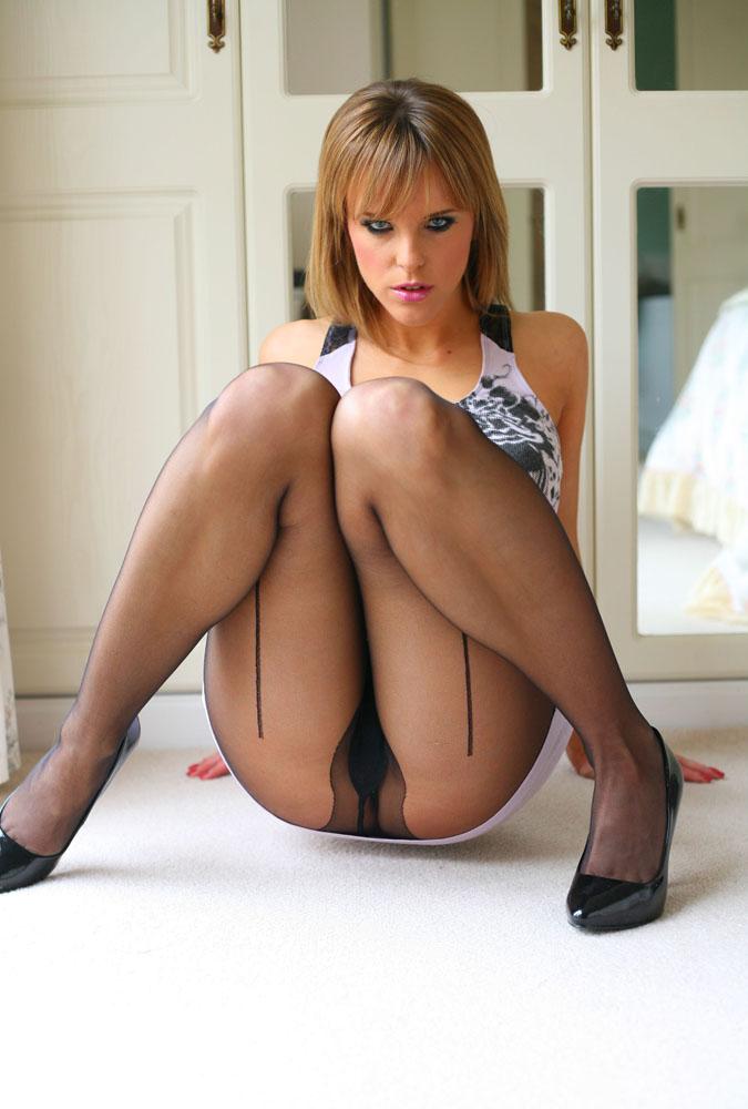 Pantyhose glamour models